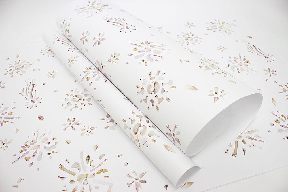 Caro Mantke, Collage, Wrapping Paper