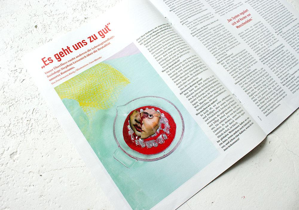 Caro Mantke – MS MANTOBER – jetzt Magazin #2
